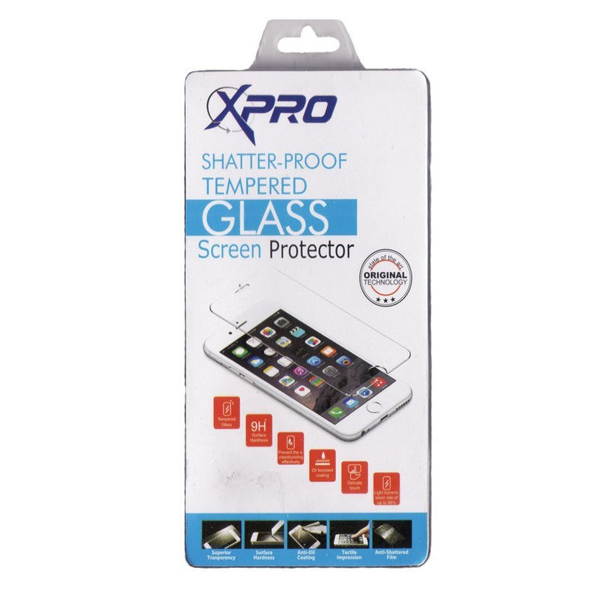 Xpro Tempered Glass Iphone 5G/5S/5C clear