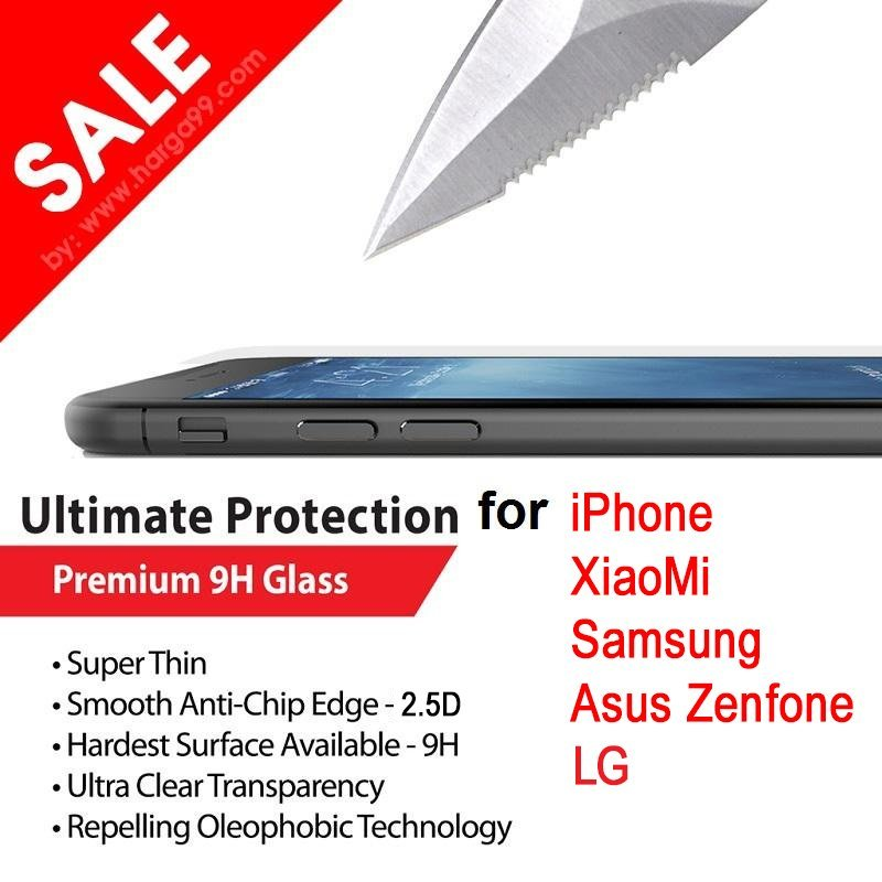 Xpro Tempered Glass untuk Samsung A7 A700 Screen Guard / Protector - Clear
