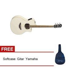 Yamaha Gitar APX 500II - Vintage White + Gratis Softcase Gitar Yamaha