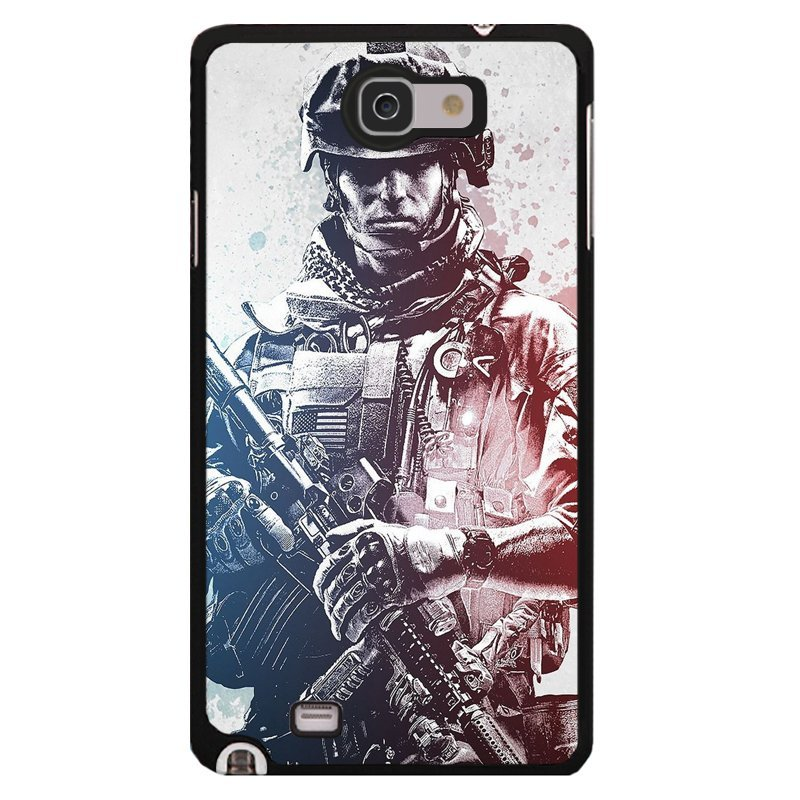 Y&M Cell Phone Case For Samsung Galaxy Note 2 Super Soldier Pattern Cover (Multicolor)