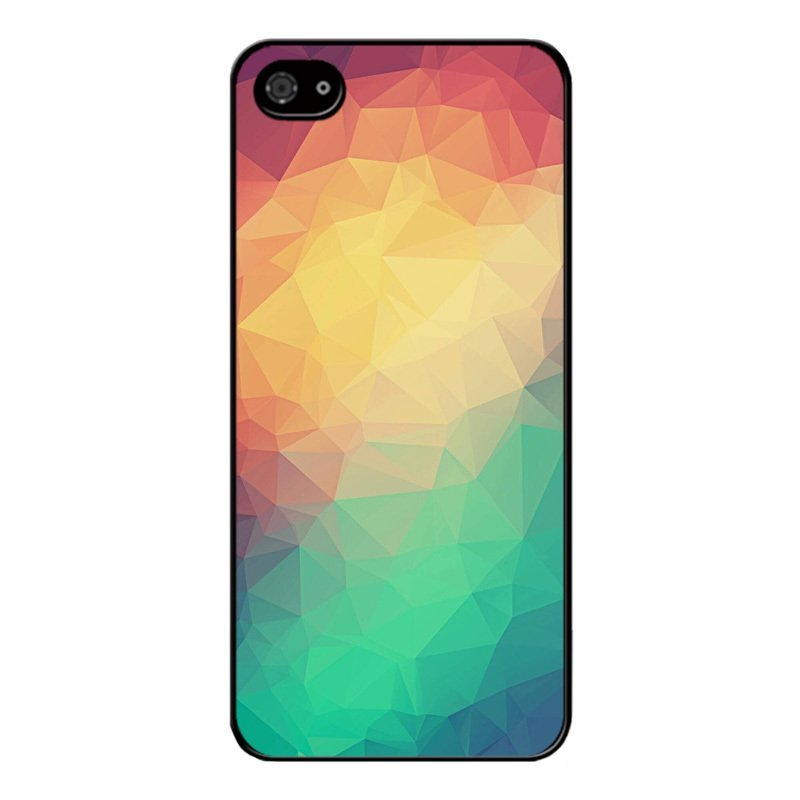 Y&M Personality Abstract Pattern Phone Case for iPhone SE / 5S / 5 Multicolor