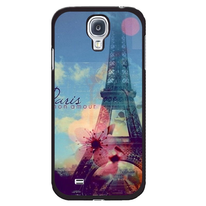 Y&M Beautiful Eiffel Tower Painting Phone Case for Samsung Galaxy Mega 6.3 (Multicolor)