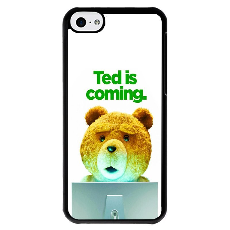 Y&M Cell Phone Case For iPhone 5c Fashion Ted Coming Pattern Cover (Multicolor)