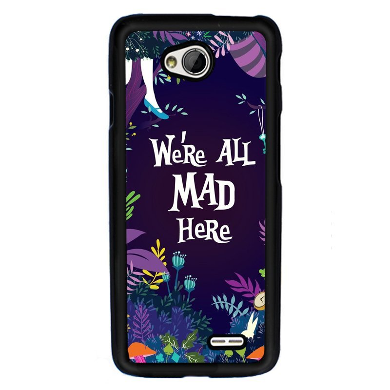 Y&M Cell Phone Case For LG L70 Funny Story Comic Printed Cover (Multicolor)