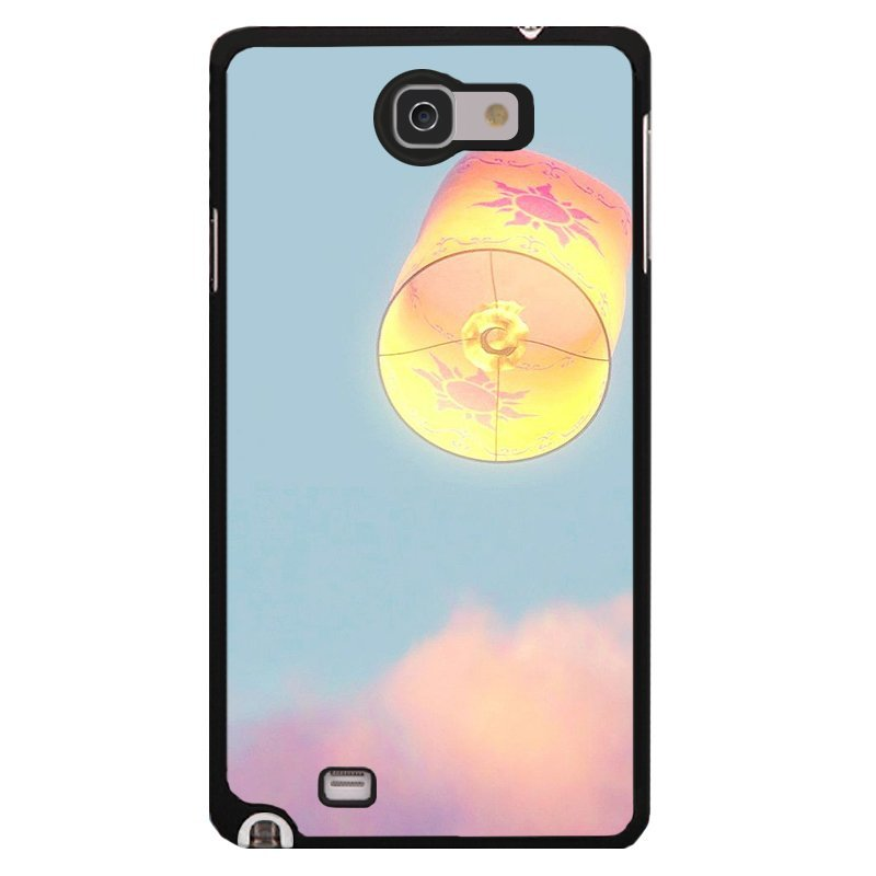 Y&M Cell Phone Case For Samsung Galaxy Note 1 Sky Lantern Printed Cover (Multicolor)