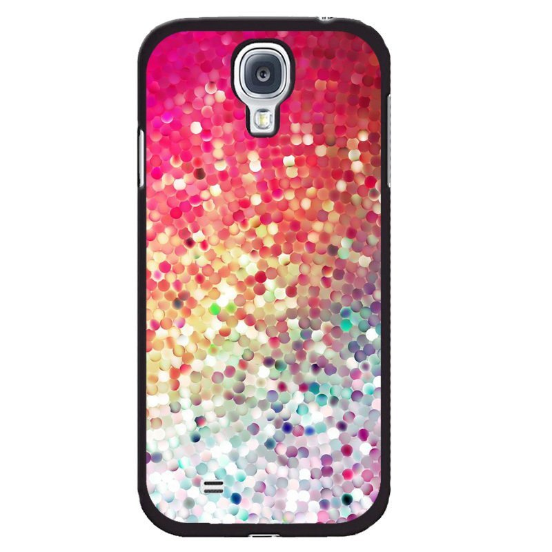 Y&M Colorful Painting Cover for Samsung Galaxy Mega 6.3 (Black)