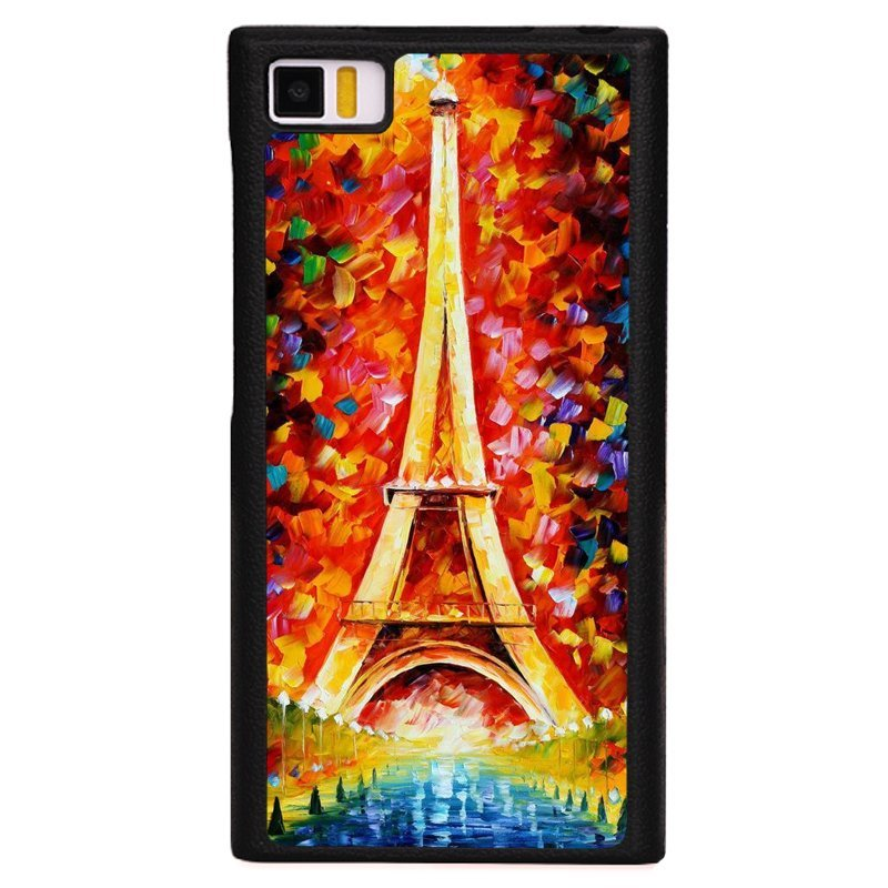 Y&M Colorful Painting Eiffel Tower Pattern Phone XiaoMi Mi 3 Shells(Multicolor)