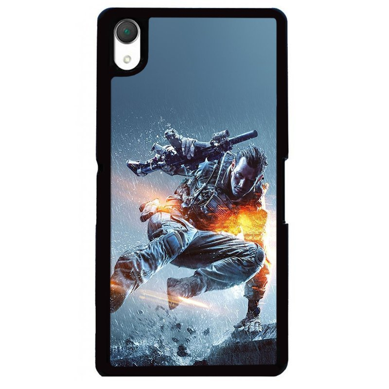 Y&M Cool Fighter SONY Xperia Z2 Phone Cover (Multicolor)