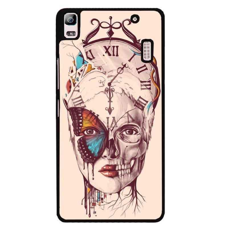 Y&M Cool Tattoo Girl Phone Cover for Lenovo A7000 (Black)