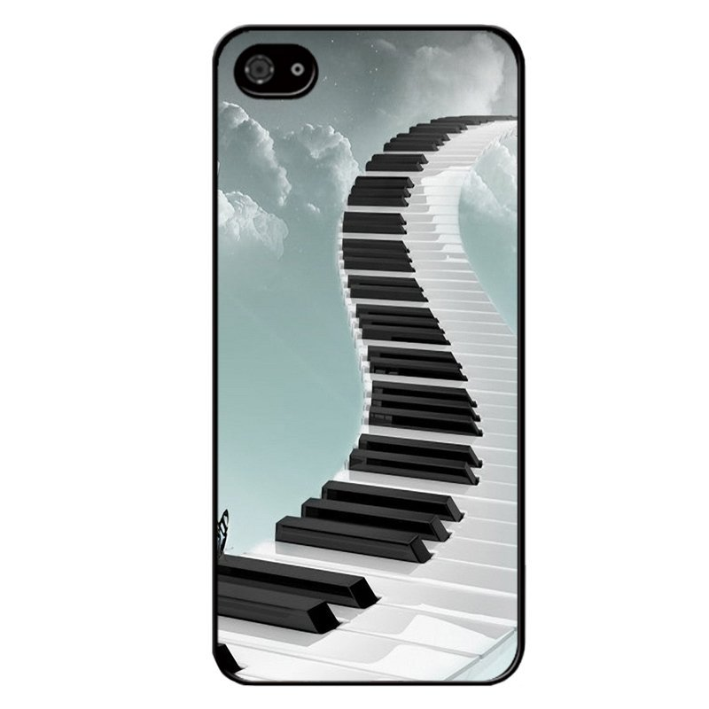Y&M Creative Piano Way to Heaven Phone Case for BlackBerry Z10 (Multicolor)