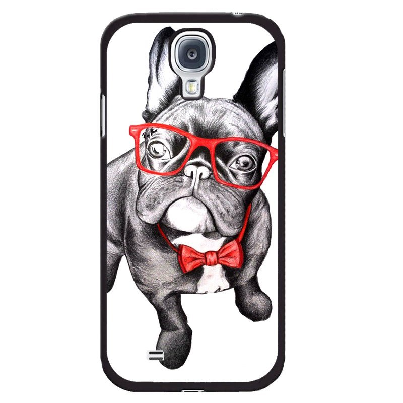 Y&M Cute Pug Dog Printd Phone Case for Samsung Galaxy Mega 6.3 (Multicolor)