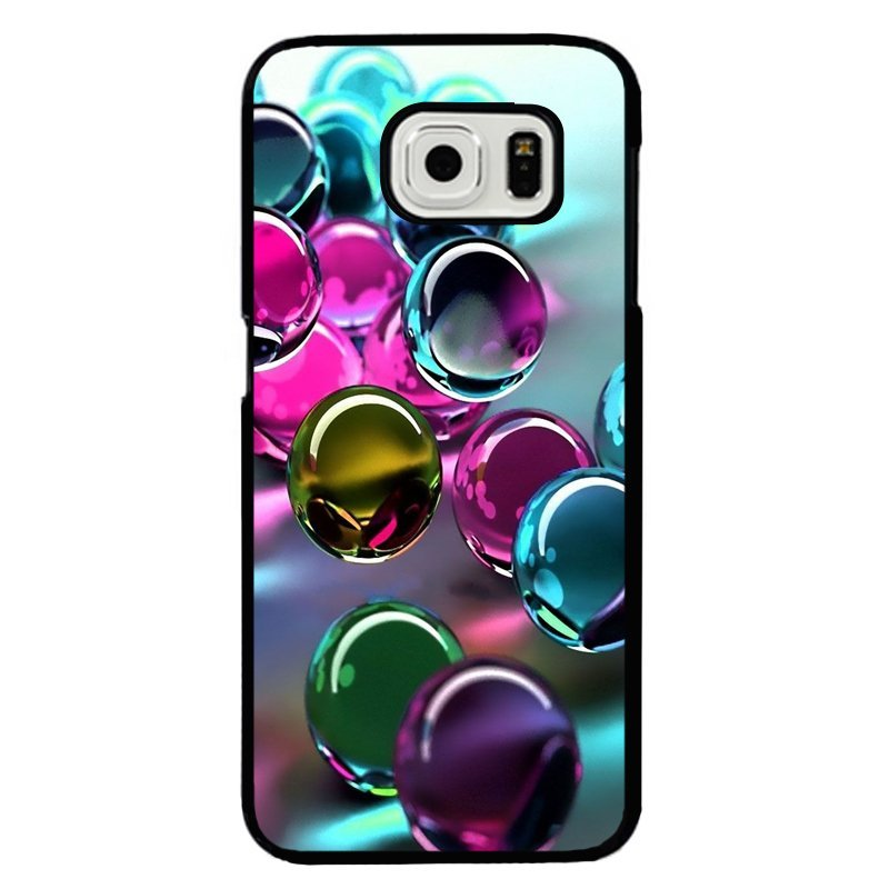 Y&M Fantasy Water Drop Samsung Galaxy S6 Edge Phone Cover (Multicolor)