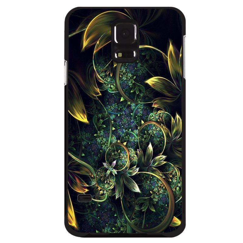 Y&M Flowers Abstract Pattern Phone Case for Samsung Galaxy S5 (Multicolor)