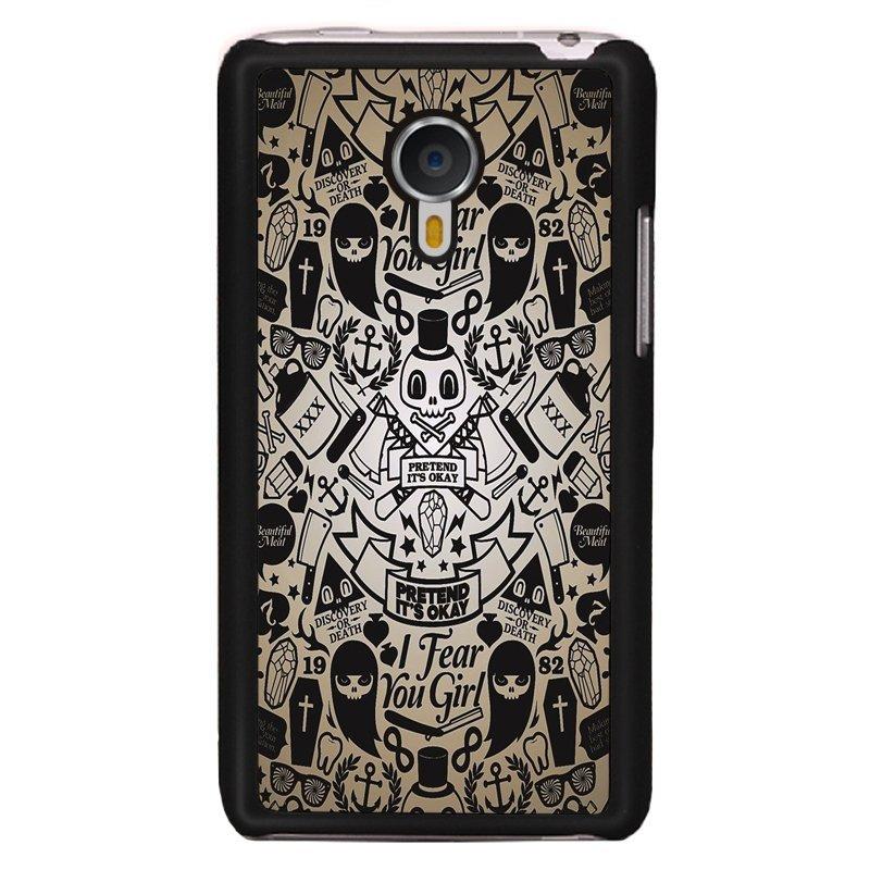 Y&M Ghosts Meizu MX4 Phone Case (Multicolor)