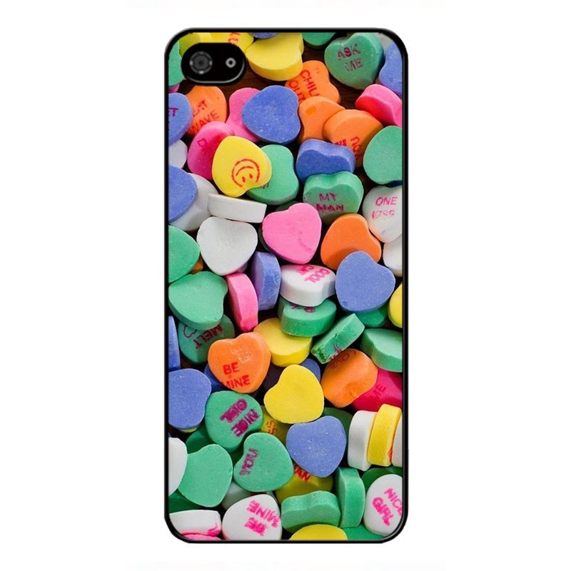 Y&M Heart Shape Candy BlackBerry Z10 Phone Cover (Multicolor)