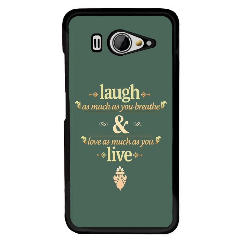 Y&M Laugh And Live Letters Phone Covers for XiaoMi Mi 2 (Multicolor)