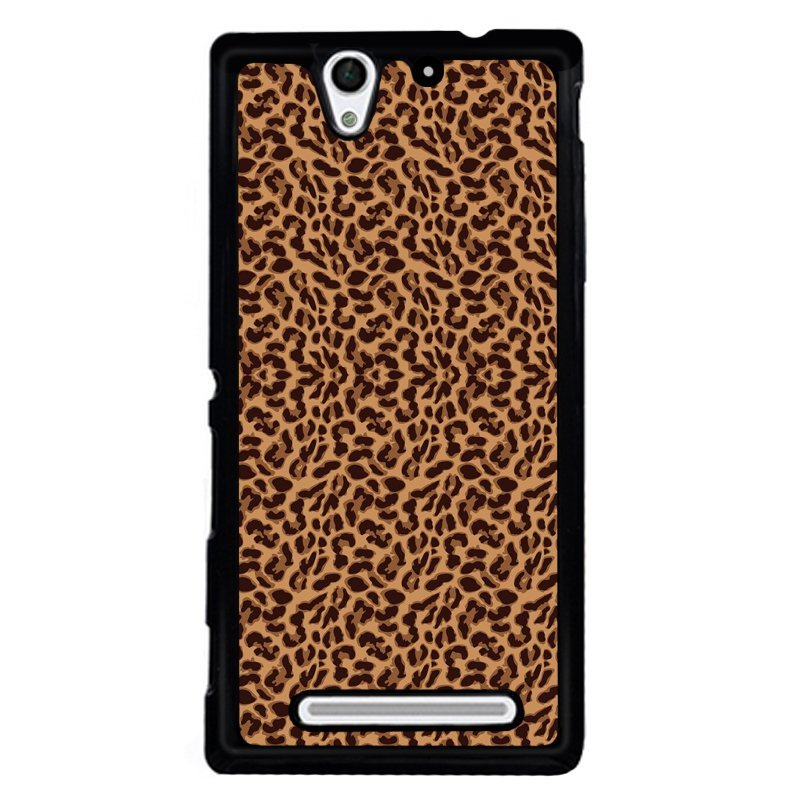 Y&M Leopard Print Sony Xperia C3 Phone Cover (Multicolor)