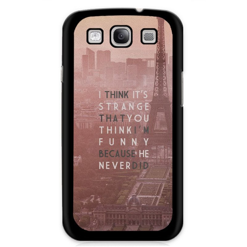 Y&M Letters City View Design Case for Samsung Galaxy Grand 2 Multicolor