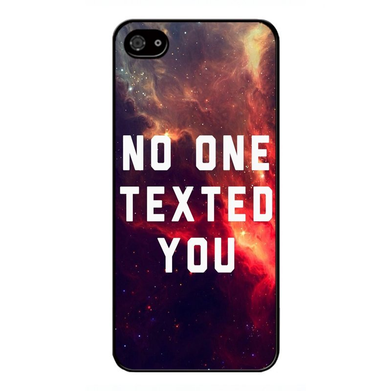 Y&M No One Texted You BlackBerry Z10 Phone Cover (Multicolor)