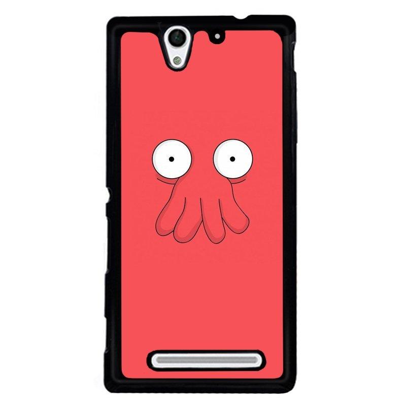 Y&M Octopus Face Sony Xperia C3 Phone Cover (Multicolor)