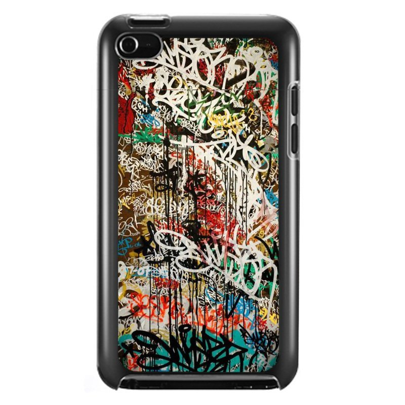Y&M Personality Graffiti Woolden iPod Touch 4 Phone Covers(Multicolor)