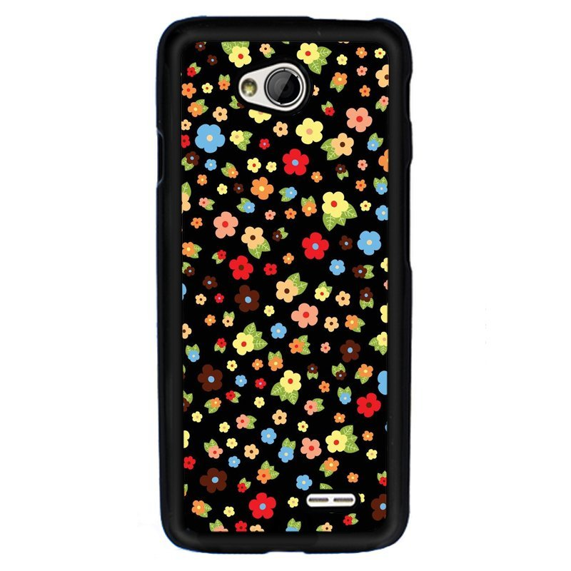 Y&M Phone Case For LG L70 Beautiful Little Flowers Printed Cover (Multicolor)