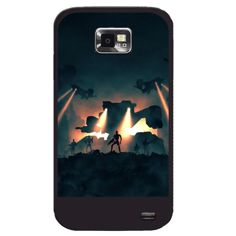 Y&M Phone Covers Sunset Fighter Samsung Galaxy S2 (Multicolor)