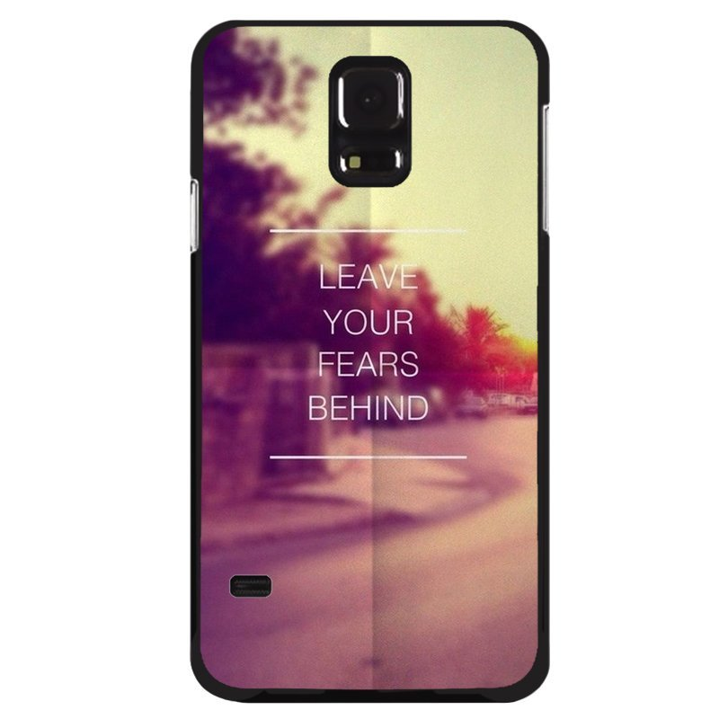 Y&M Phone Samsung Galaxy S5 Leave Your Fears Behind Shells (Multicolor)