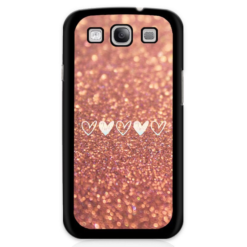Y&M Pink Bling Heart Shape Phone Case for Samsung Galaxy Grand 2 (Multicolor)