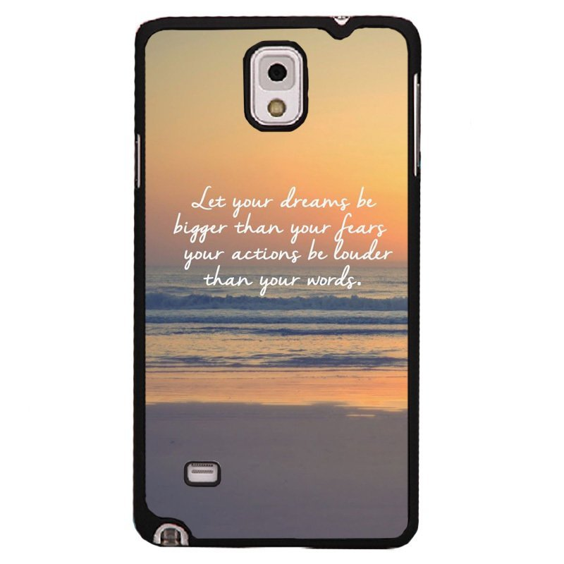 Y&M Romantic Beach Pattern Phone Case for Samsung Note 4 (Multicolor)