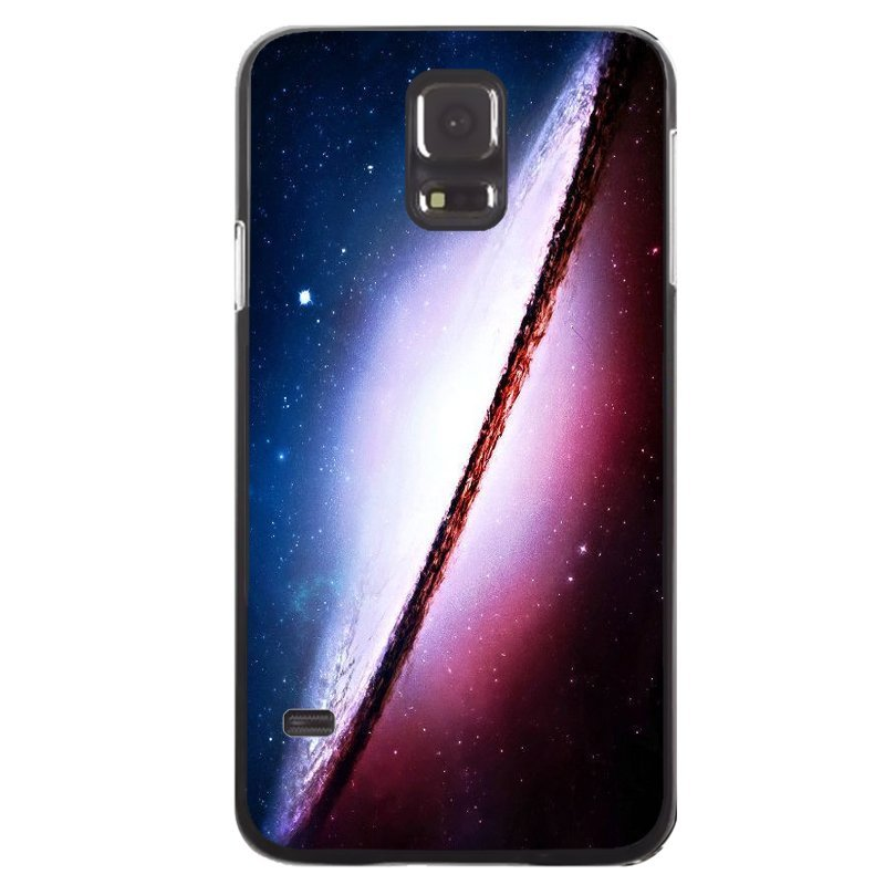 Y&M Solar System Purple Pattern Phone Case Samsung Galaxy S5 Mini (Multicolor)