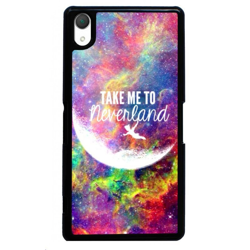 Y&M Take Me To Neverland Painting Case for SONY Xperia Z1 (Black)