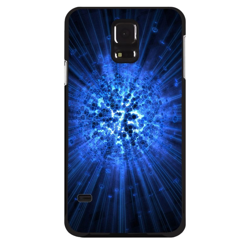 Y&M Vintage Blue Shining Samsung Galaxy S5 Phone Case (Multicolor)