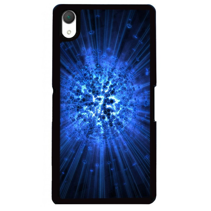 Y&M Vintage Blue Shining Sony Xperia Z1 Phone Case (Multicolor)