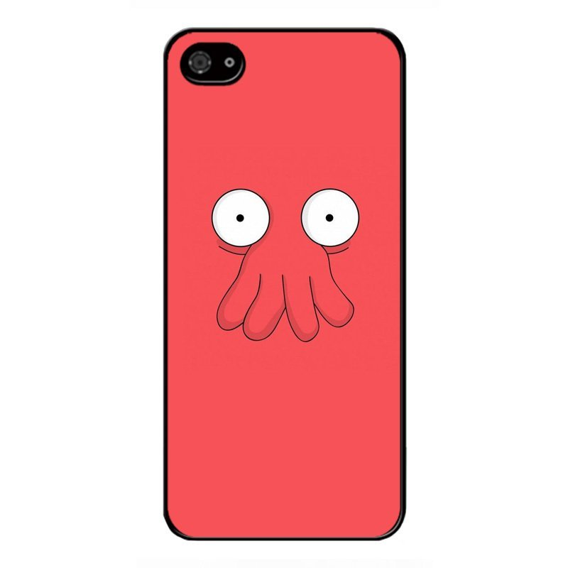 Y&M Vintage Red Octopus iPhone 4 4S Phone Case (Multicolor)