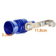 Yika Turbo Sound Simulator Whistle (Silver / Blue) (Intl)