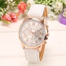 Yika Women Round Multi Dial Quartz Analog Watch (White)