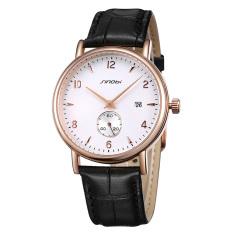 YJJZB 16 Years Of The New Genuine Kenobi Watch Men's Fashion Watch Strap Slim Men's Strap Watch On The Calendar