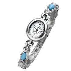 YJJZB Authentic YAQIN Yaqin Female Watch 7202 Fashion Watch Female Models Bracelet Watch Fashion Ladies Watches (Blue)