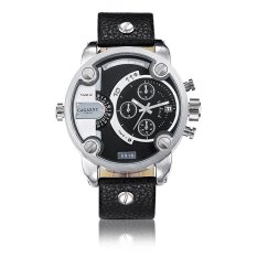 YJJZB CAGARNY DZ Style Leisure Sports Brand Quartz Skin Mens Watch Large Dial Mens Watch Wholesale