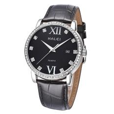 YJJZB Genuine Leather Strap Watch Brand Lovers Watch Wholesale Calendar One Generation Waterproof (1 X Men Watch)