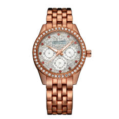 YJJZB Kingsky Genuine Damen Quartz Watch More Drilling Diamond Watches Mantianxing Factory Direct Foreign Trade Scale