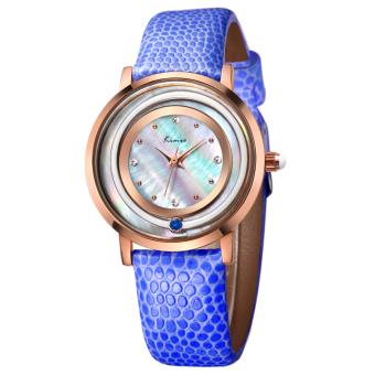 YJJZB Ms. KIMIO Quartz Watch Fashion Bracelet Watch Fashion Female Form 546m (Blue)