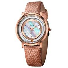 YJJZB Ms. KIMIO Quartz Watch Fashion Bracelet Watch Fashion Female Form 546m (Brown)