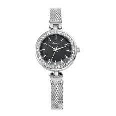 YJJZB Ms. KIMIO Quartz Watch Leisure Fashion Bracelet Watch Fashion Female Form 550s (Black)