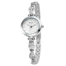 YJJZB New Genuine KIMIO Quartz Watch Korean Fashion Watch Bracelet Table Fine Beauty KW535S (Red)