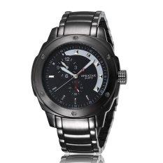 YJJZB SPEATAK Watch Men's Fashion Simple Decorative Eye Personalized Watch Dial Quartz Watch Waterproof Trend Steel Strip Table