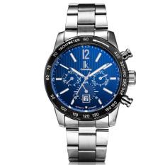 YJJZB The New IK Apa Qi Automatic Mechanical Watches Multifunction Men's Fashion Watch Waterproof Male Table 98203 (Black)