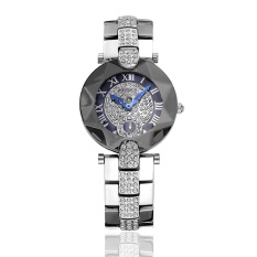 Yoouino Sousou 2016 Nian New Shelves Explosion Models Ladies Watches Women Watch With Diamond Factory Direct Foreign Trade (Silver)