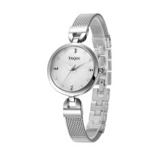 Yooyvso Authentic Yaqin Watch Female Models 6222 Fashion Bracelet Ladies Watches (Silver)